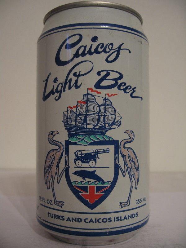 TURK CAICOS Caicos Light Beer (AL can)