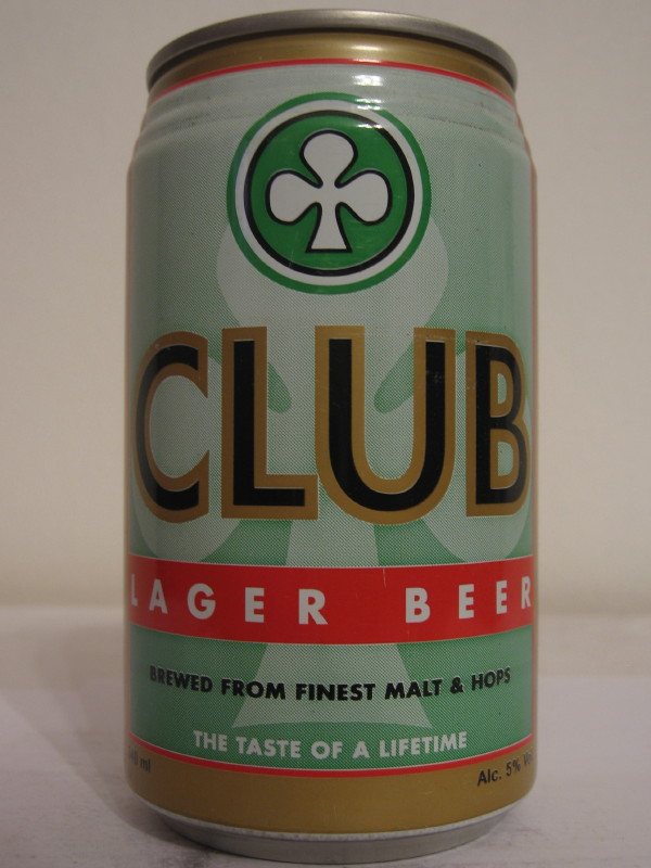 GHANA CLUB LAGER BEER (AL can)