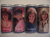 TENNENTS LAGER girls complete set from SCOTLAND (44cl)