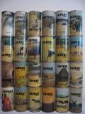 SAFARI complete set from U.S.A. (35cl) (B/O)