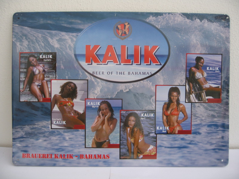 KALIK BEER OF THE BAHAMAS