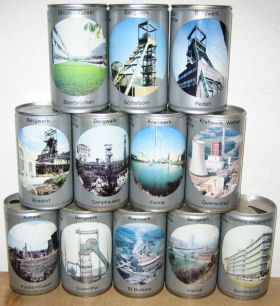 BECKER PILSNER complete set 12 mine plants from Germany
