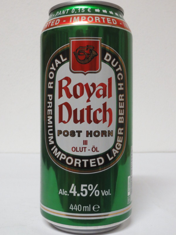 Royal Dutch POST HORN III OLUT-ÖL (44cl)