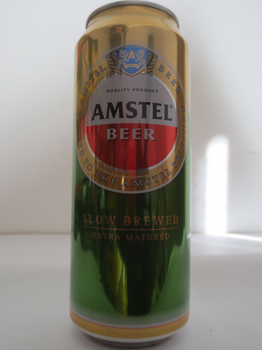 AMSTEL BEER SLOW BREWED EXTRA MATURED (50cl) (B/O)