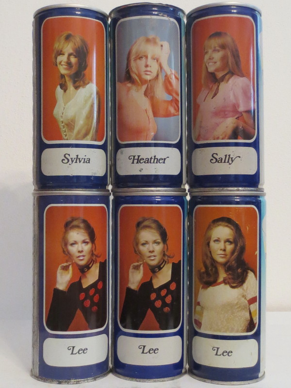 TENNENT´S girls set 1 SS and 5 CS cans from SCOTLAND (44cl)