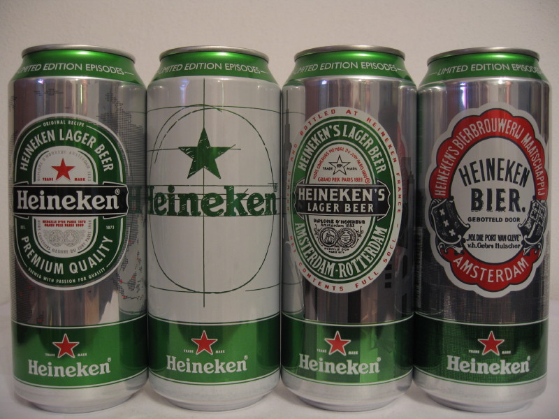 Heineken set from FRANCE (50cl) (B/O)