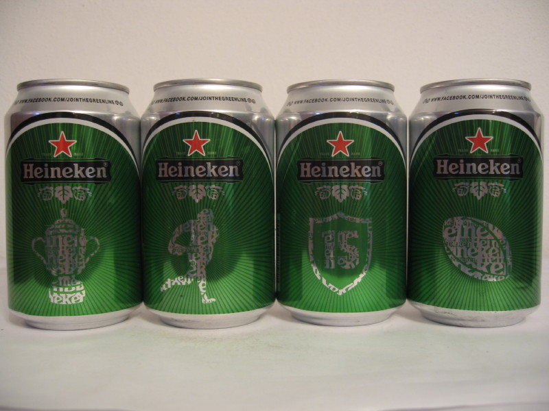 Heineken rugby set from FRANCE (33cl) (B/O)