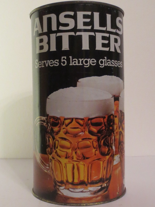 ANSELLS BITTER Serves 5 large glasses (278 cl)