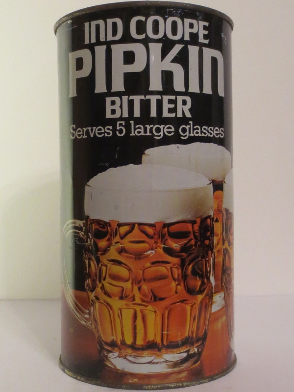 IND COOPE PIPKIN BITTER Serves 5 large glasses (278 cl)