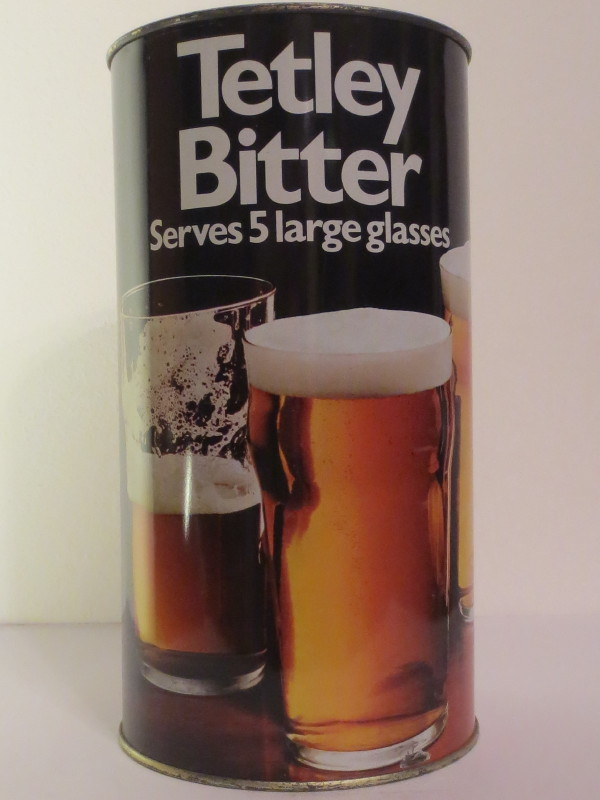 Tetley Bitter Serves 5 large glasses (278 cl)