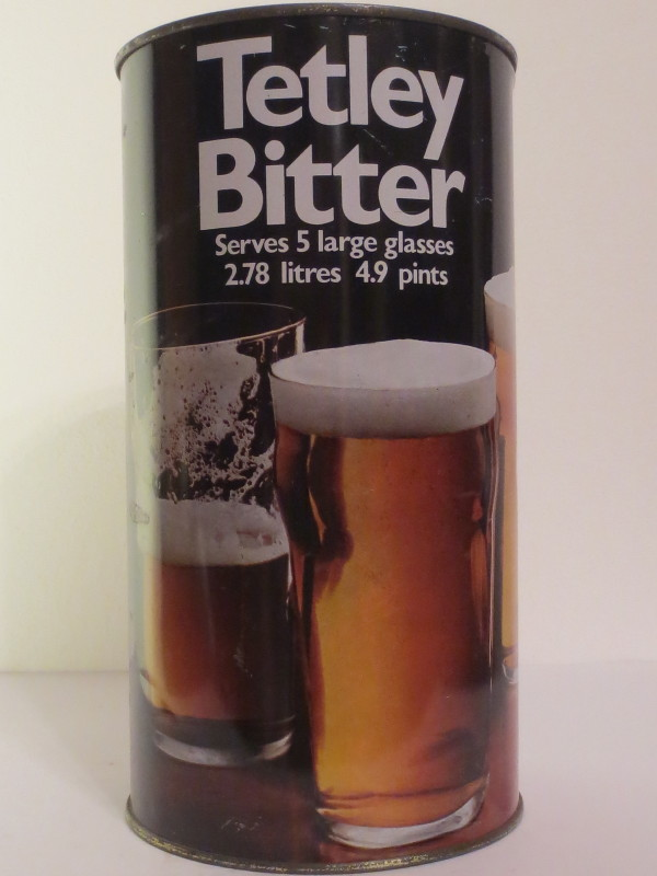 Tetley Bitter Serves 5 large glasses 2.78 litres 4.9 pints (278 cl)