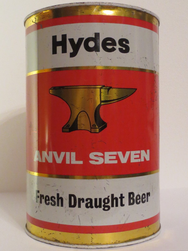 Hydes ANVIL SEVEN Fresh Draught Beer (386cl)