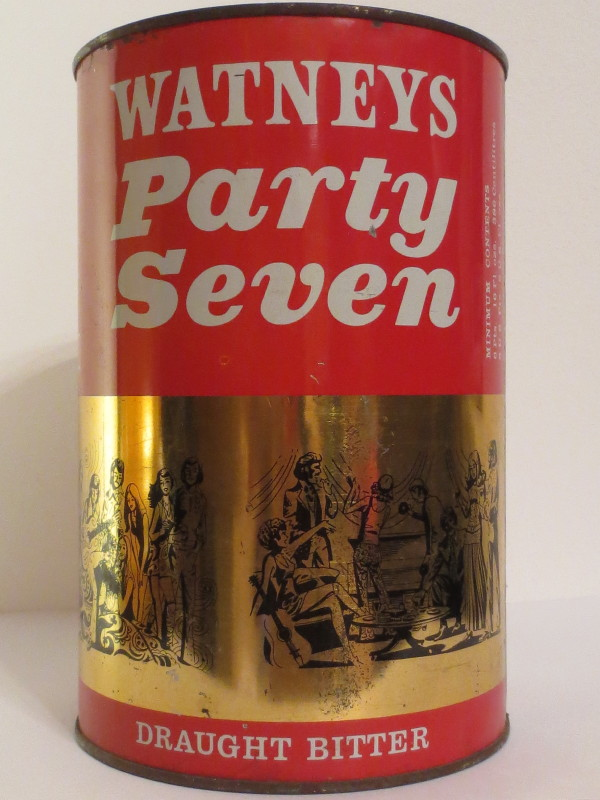 WATNEYS Party Seven DRAUGHT BITTER (386cl)