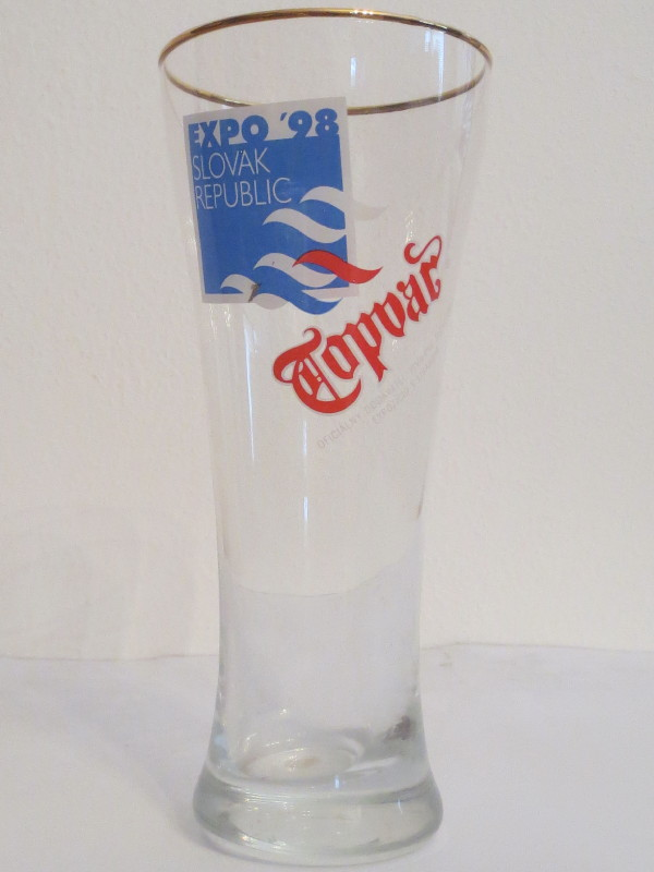 Topvar EXPO ´98 SLOVAK REPUBLIC (0,3L) štuc