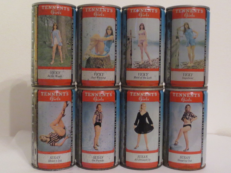 TENNENT´S LAGER complete set 20 cans (CS) (33cl)