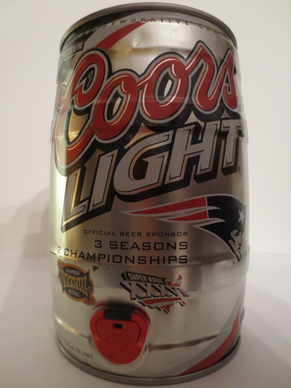 Coors LIGHT 3 SEASONS 2 CHAMPIONSHIPS
