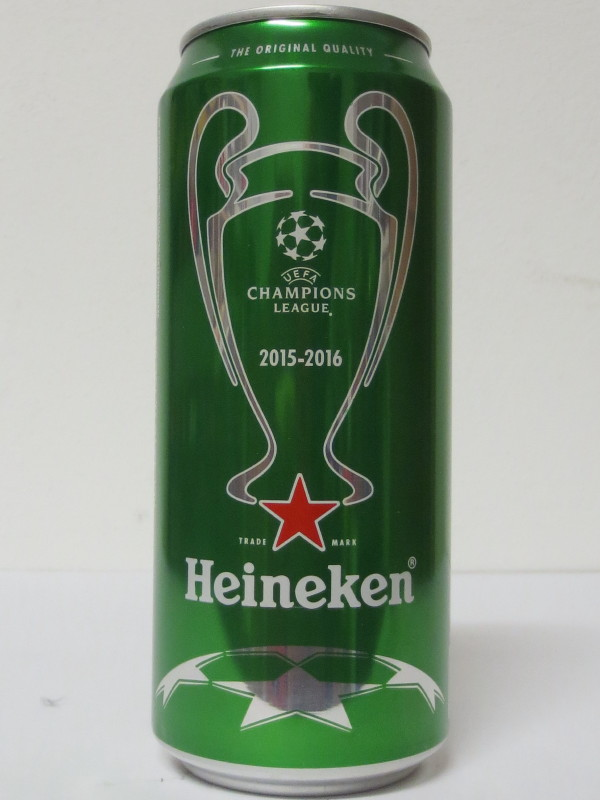 Heineken UEFA CHAMPIONS LEAGUE 2015-2016 (40cl)