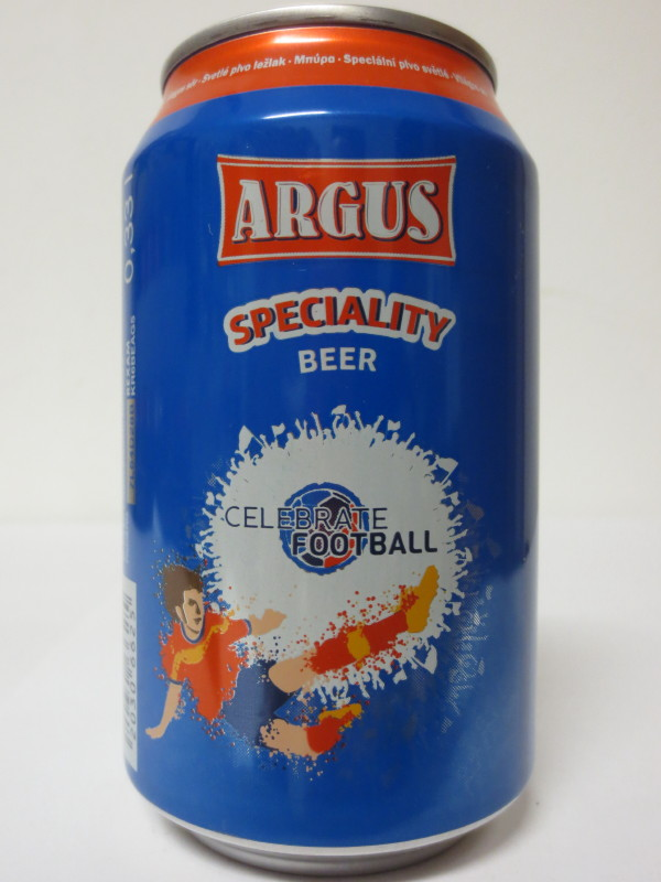 ARGUS SPECIALITY BEER CELEBRATE FOOTBALL (33cl)