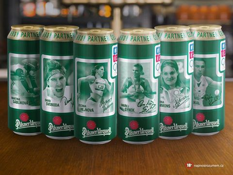 Pilsner Urquell OLYMPIC 2016 set (50cl)