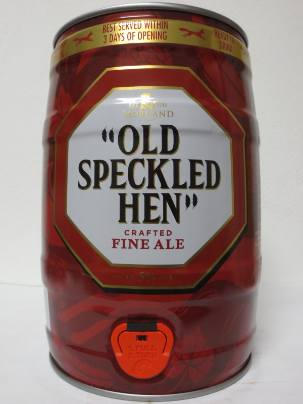 """OLD SPECKLED HEN"" CRAFTED FINE ALE"