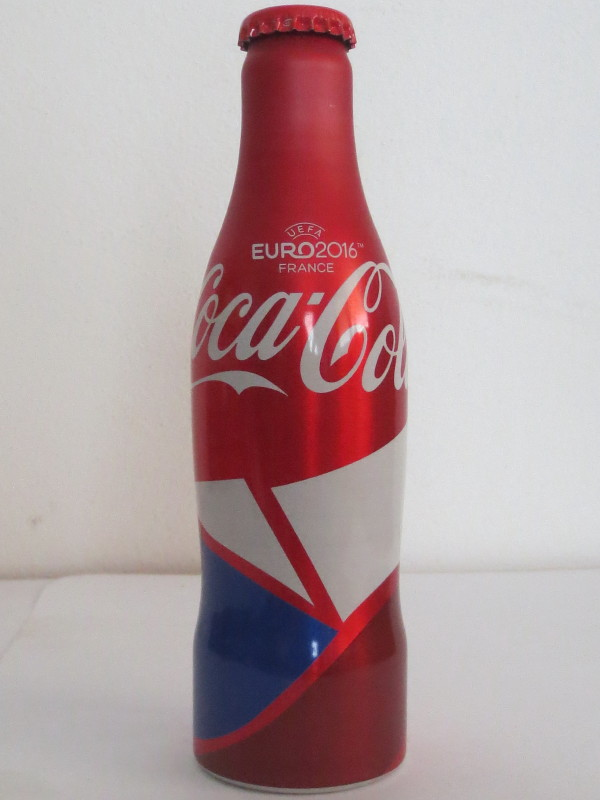CZECH REPUBLIC Coca Cola EURO 2016 (25cl)