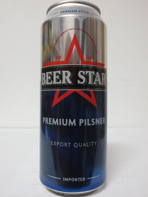 BEER STAR PREMIUM PILSNER EXPORT QUALITY IMPORTED (50cl)