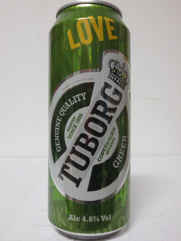 TUBORG GREEN LOVE (50cl)