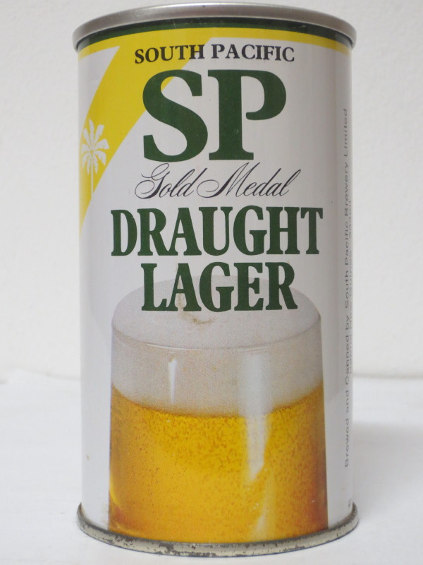 SOUTH PACIFIC DRAUGHT BEER SS (33cl)