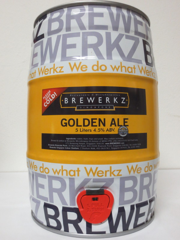 BREWERKZ GOLDEN ALE
