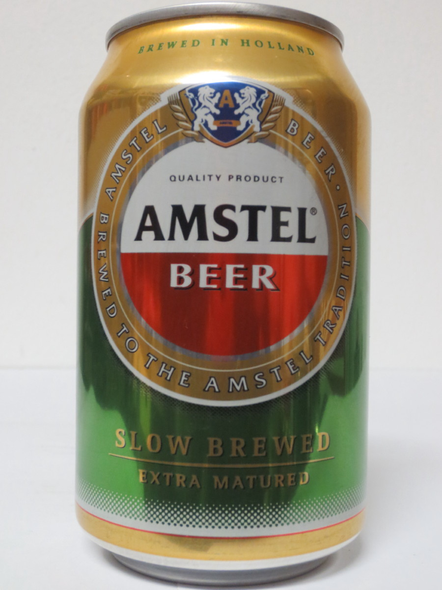 AMSTEL BEER SLOW BREWED EXTRA MATURED (33cl) (B/O)