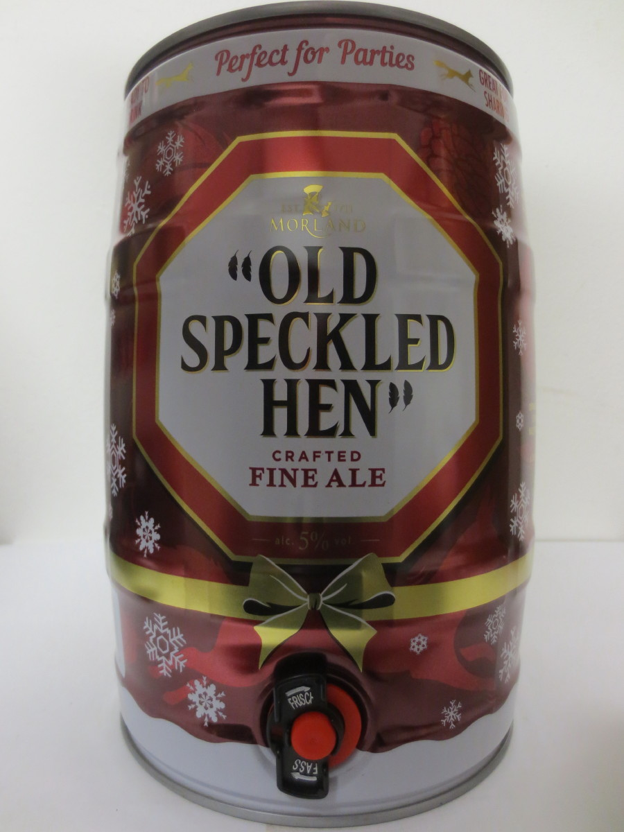 "OLD HECKLED HEN CRAFTED FINE ALE ""CHRISTMAS"""