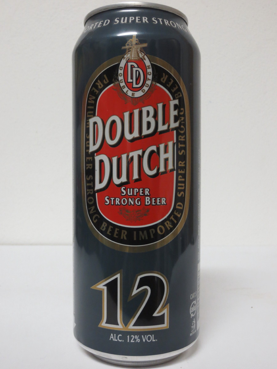 DOUBLE DUTCH SUPER STRONG BEER 12 (50cl) (B/O)