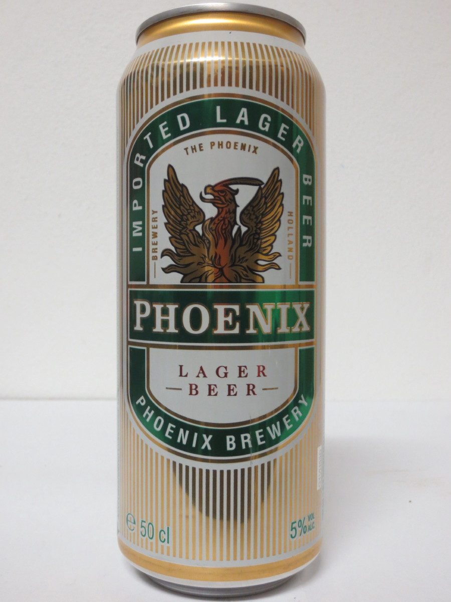 PHOENIX LAGER BEER (50cl) (B/O)