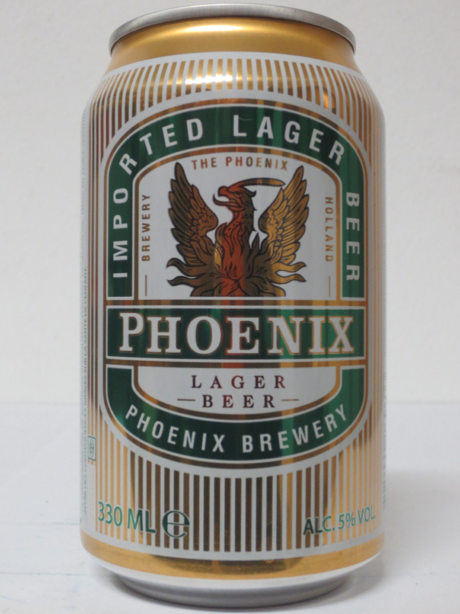 PHOENIX LAGER BEER (33cl) (B/O)
