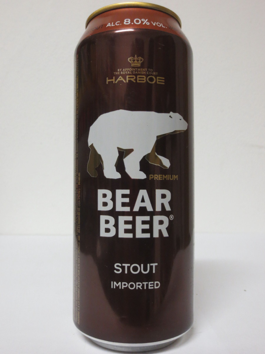 HARBOE BEAR BEER STOUT IMPORTED (50cl)