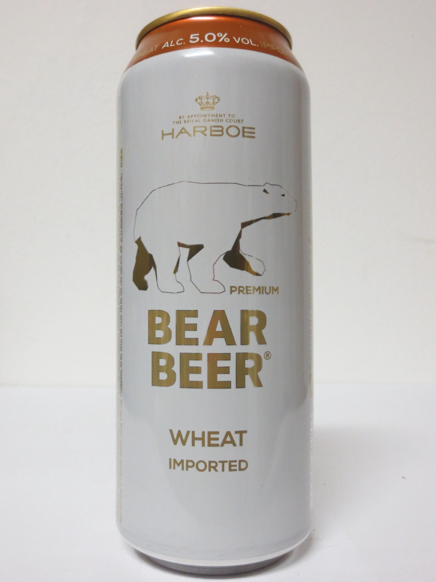 HARBOE BEAR BEER WHEAT IMPORTED Nr.2 (50cl)