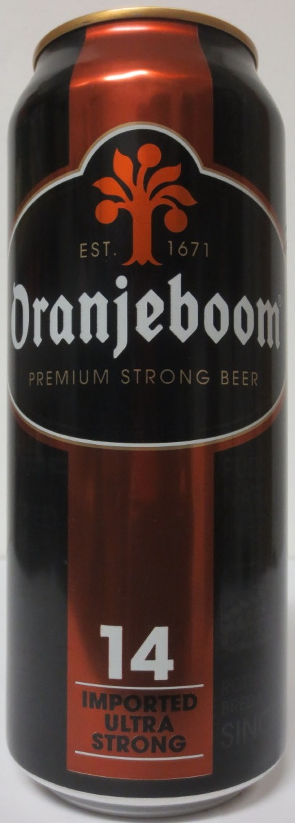 Oranjeboom PREMIUM STRONG BEER 14 IMPORTED ULTRA STRONG (50cl)