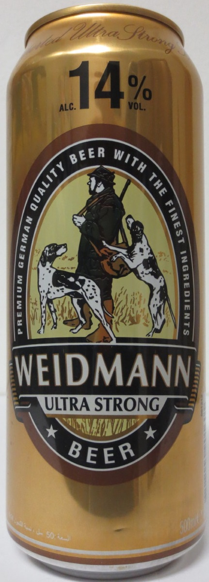 WEIDMANN ULTRA STRONG BEER 14% (50cl)
