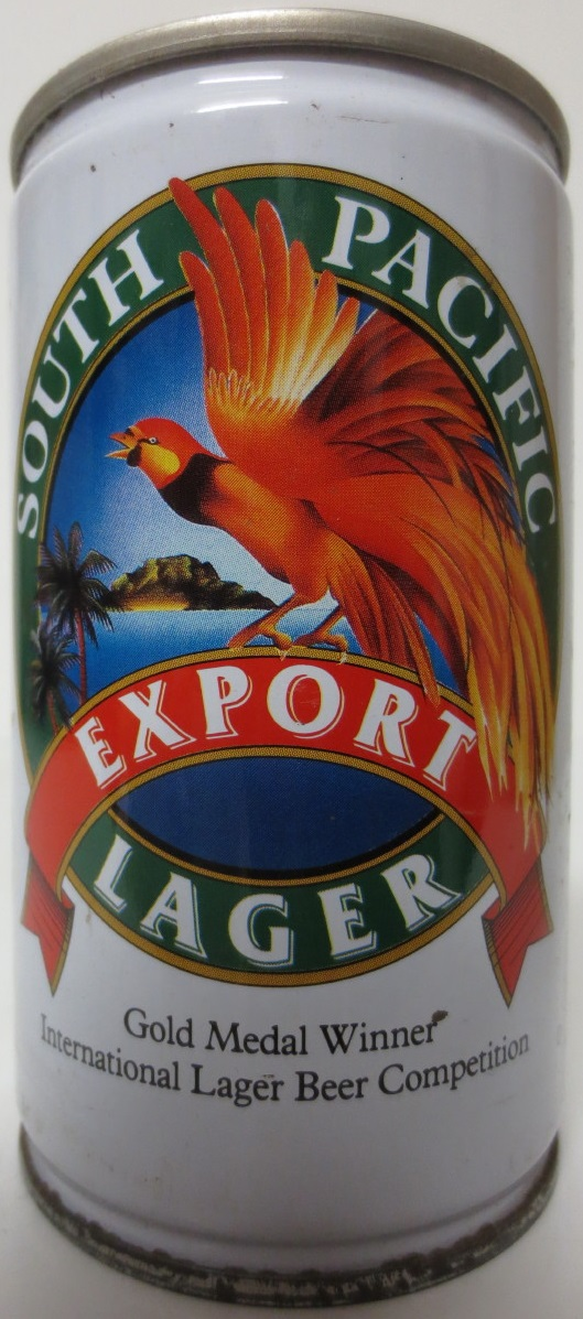 SOUTH PACIFIC EXPORT LAGER (33cl) (B/O)