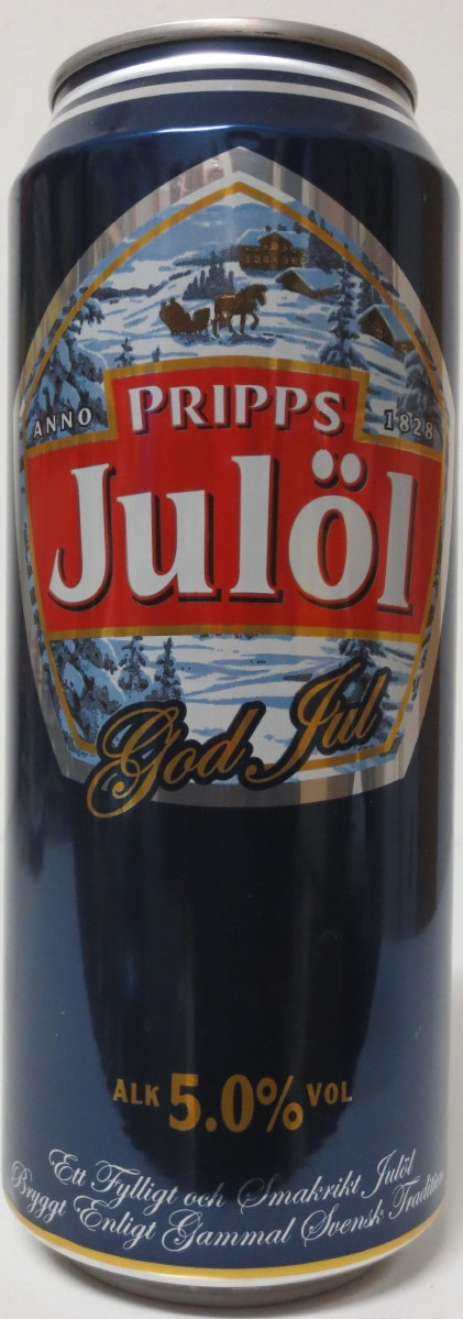 PRIPPS Julöl God Jul (50cl) (B/O)