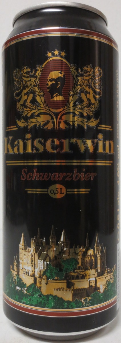 Kaiserwin Schwarzbier from GERMANY (50cl) (B/O)