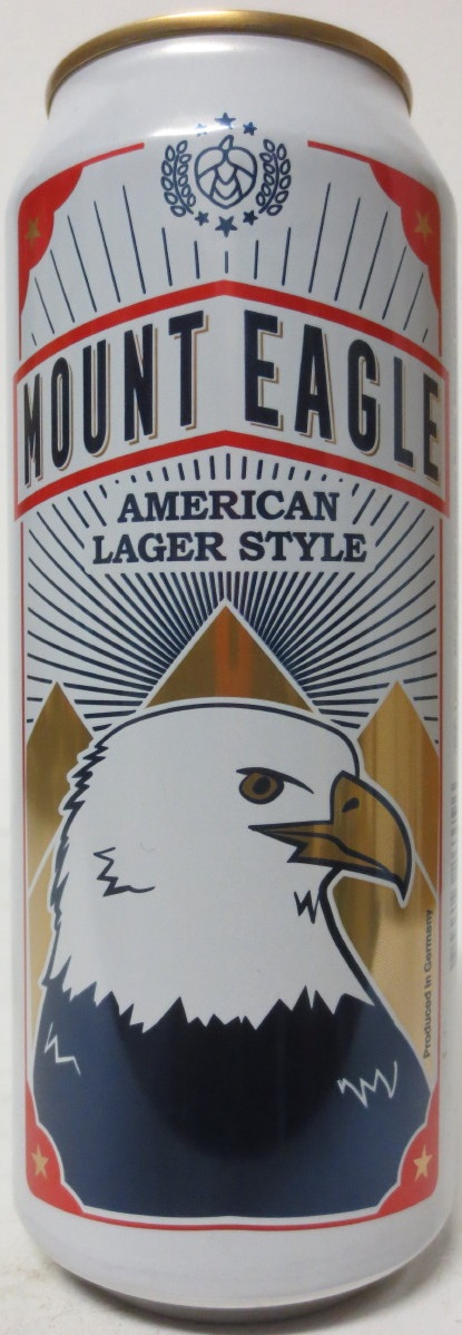 MOUNT EAGLE AMERICAN LAGER STYLE (50cl)