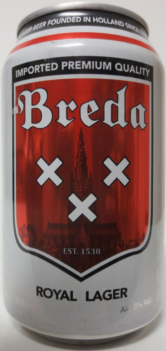 Breda ROYAL LAGER (33cl)