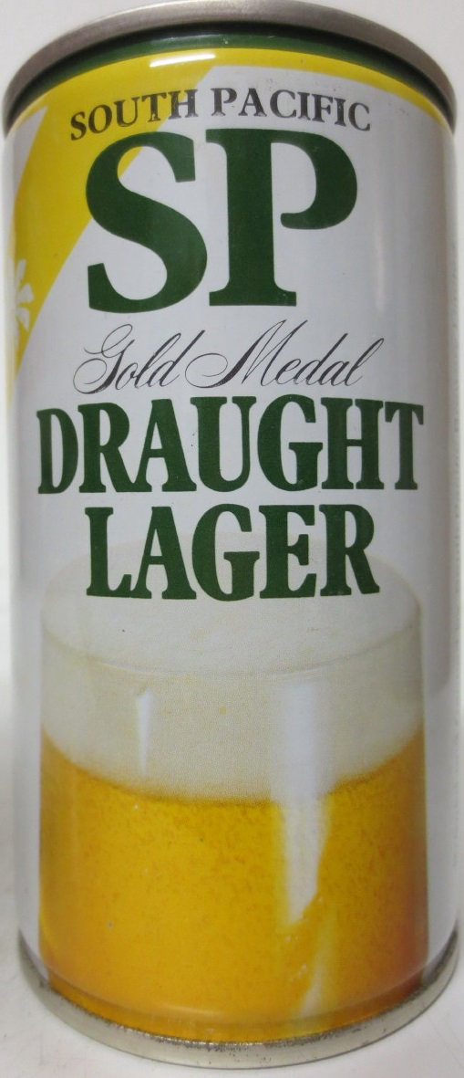 SOUTH PACIFIC SP Gold Medal DRAUGHT LAGER (33,3cl) (CS)